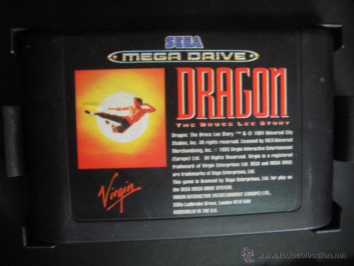 Videojuegos y Consolas: ANTIGUO JUEGO DRAGON - LA HISTORIA DE BRUCE LEE - Foto 2 - 56075311