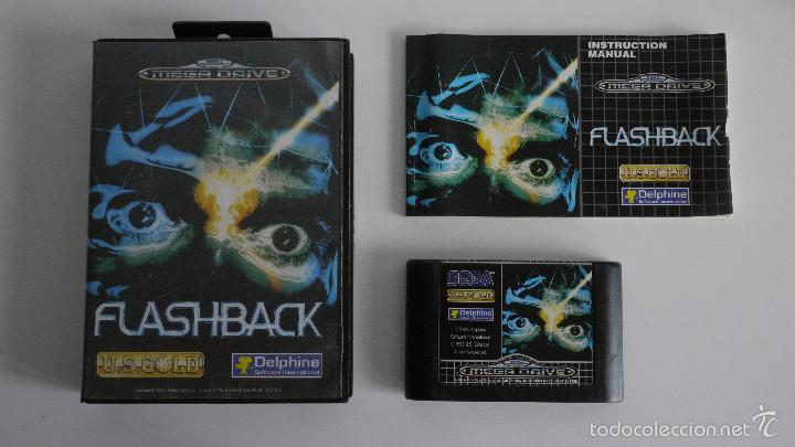 Juego megadrive flashback sega 16-bit -1993  pa - Sold