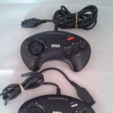 Videojuegos y Consolas: CONSOLA SEGA MEGA DRIVE LOTE 2 MANDOS PLENO FUNCIONAMIENTO ORIGINALES VER!!! R3559. Lote 56210472