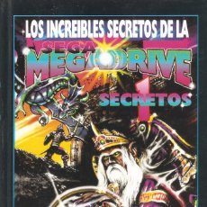 Videojuegos y Consolas: LOS INCREÍBLES SECRETOS DE LA SEGA MEGADRIVE - Nº 1 SECRETOS - J. DOUGLAS ARNOLD EDICIONES B, 1993.. Lote 56342999