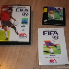 Videojuegos y Consolas: SEGA MEGADRIVE JUEGO FIFA 98 COMPLETO. Lote 56492074