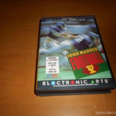 Video Games and Consoles - JOHN MADDEN 92 AMERICAN FOOTBALL Completo SEGA MEGADRIVE - 56599756
