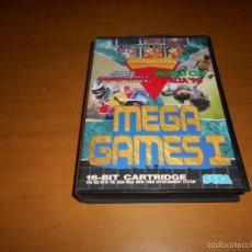 Videojuegos y Consolas: MEGA GAMES I 1 SEGA MEGA DRIVE MEGADRIVE.PAL. MUY BUEN ESTADO. Lote 56599860