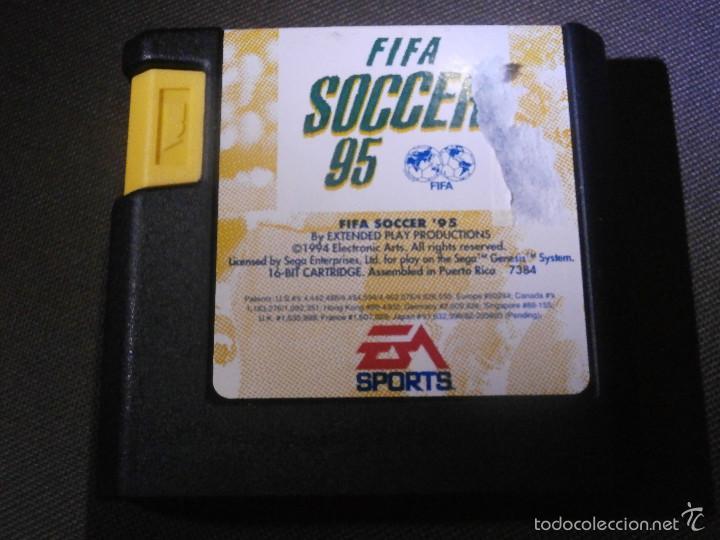 JUEGO PARA CONSOLA -SEGA MEGADRIVE - FIFA SOCCER 95 - EA SPORTS - (Juguetes - Videojuegos y Consolas - Sega - MegaDrive)