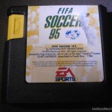 Videojuegos y Consolas: JUEGO PARA CONSOLA -SEGA MEGADRIVE - FIFA SOCCER 95 - EA SPORTS -. Lote 56749211