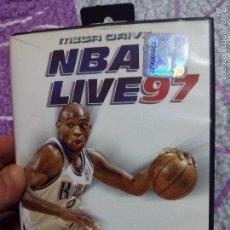 Videojuegos y Consolas: JUEGO MEGA DRIVE NBA LIVE 97. Lote 57113141