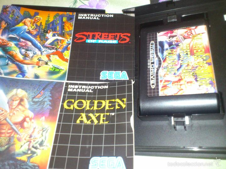 Mega Games Golden Axe Strets Of Fire Shinobi Comprar