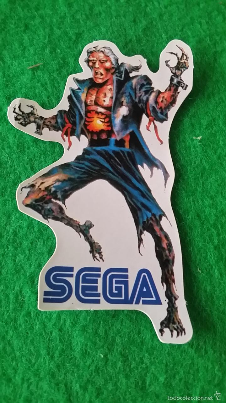 PEGATINA SEGA ETERNAL CHAMPIONS DE BOLLYCAO SIN PEGAR (Juguetes - Videojuegos y Consolas - Sega - MegaDrive)