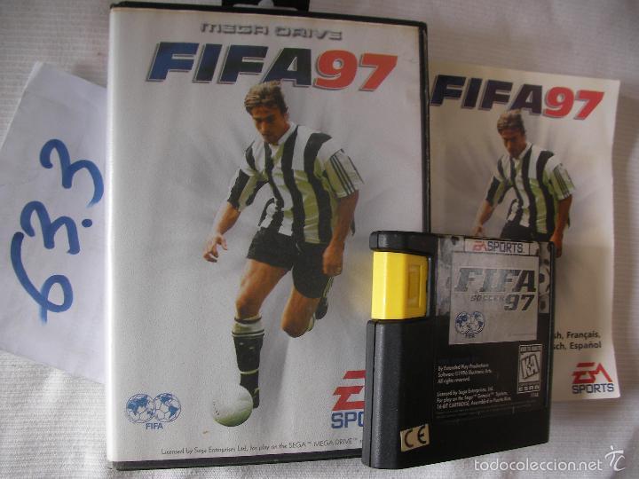 ANTIGUO CARTUCHO CON JUEGO SEGA MEGADRIVE - FIFA 97 (Juguetes - Videojuegos y Consolas - Sega - MegaDrive)