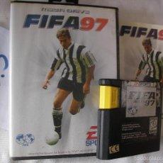 Videojuegos y Consolas: ANTIGUO CARTUCHO CON JUEGO SEGA MEGADRIVE - FIFA 97. Lote 57498060
