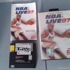 Videojuegos y Consolas: JUEGO SEGA MEGA DRIVE NBA LIVE 97 EA SPORTS COMPLETO CIB PAL R4315. Lote 58506826