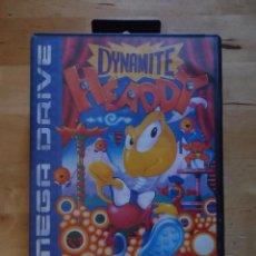 Jeux Vidéo et Consoles: JUEGO SEGA MEGA DRIVE MEGADRIVE DYNAMITE HEADY 1994 PLATAFORMAS OSCURO CASTILLO DE LOS DIABLOS. Lote 60828875