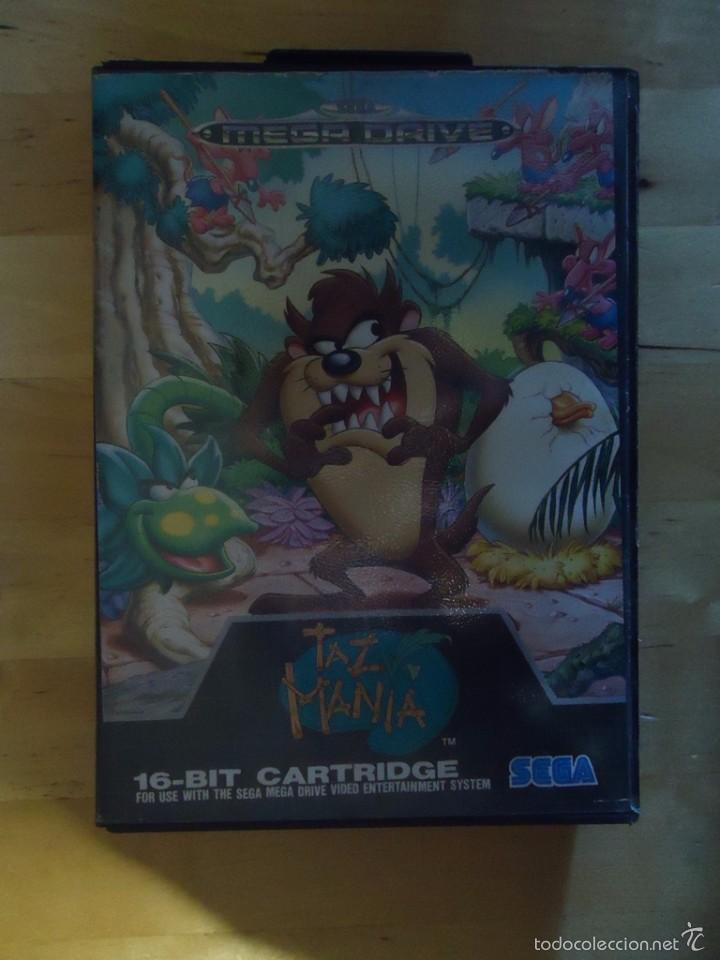 Juego Sega Mega Drive Megadrive Taz Mania 1992 Comprar Videojuegos