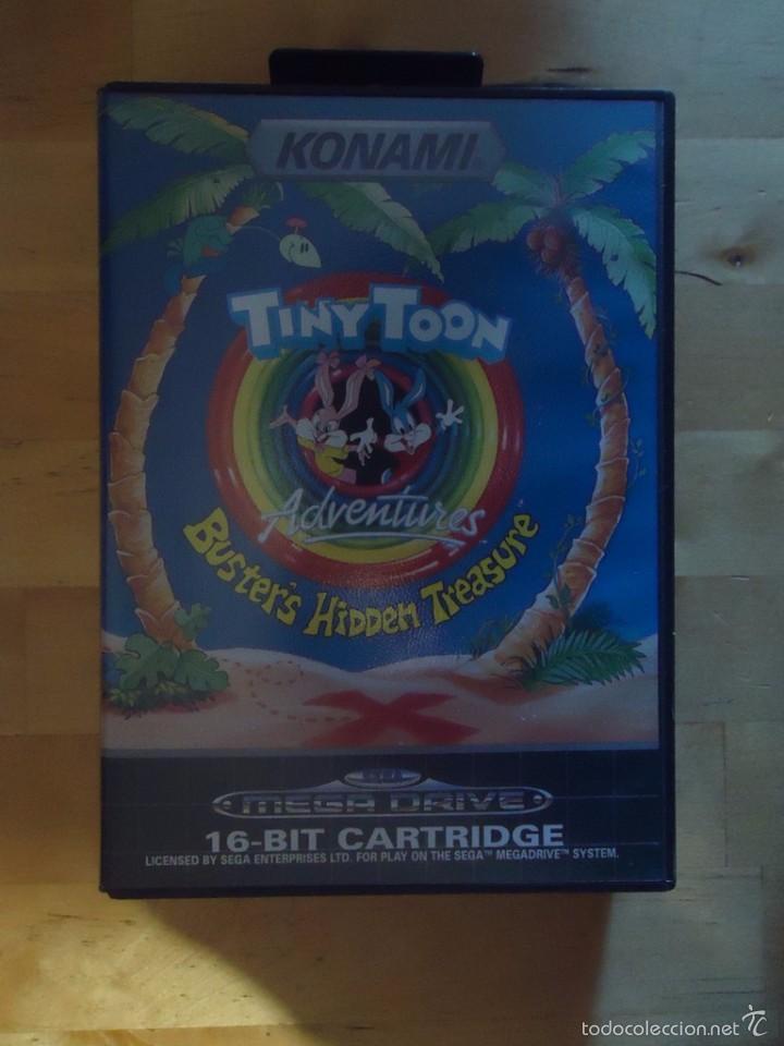 Juego Sega Mega Drive Megadrive Tiny Toon Adven Comprar