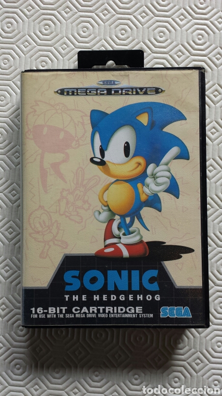 JUEGO SONIC SEGA MEGADRIVE. (Juguetes - Videojuegos y Consolas - Sega - MegaDrive)