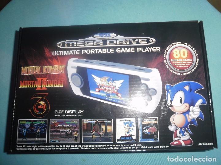 Mega Drive Portatil Atgames Edicion Mortal Komb Comprar