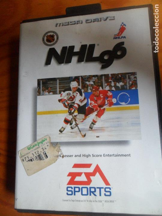 NHL 96 - SEGA MEGA DRIVE MEGADRIVE - (Juguetes - Videojuegos y Consolas - Sega - MegaDrive)