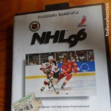 Videojuegos y Consolas: NHL 96 - SEGA MEGA DRIVE MEGADRIVE -. Lote 62761916