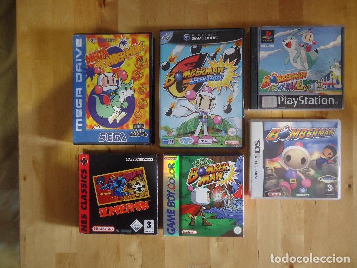 JUEGO SEGA MEGA DRIVE NINTENDO DS GAMECUBE GAME BOY MEGA BOMBERMAN POCKET GENERATION FANTASY RACE (Juguetes - Videojuegos y Consolas - Sega - MegaDrive)