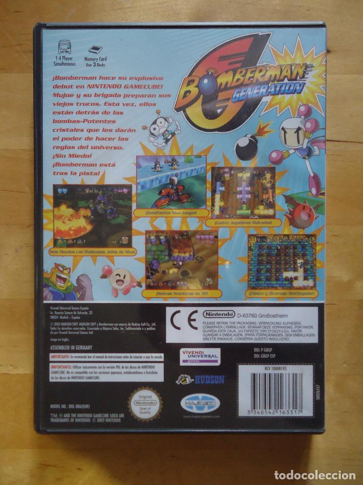 Videojuegos y Consolas: JUEGO SEGA MEGA DRIVE NINTENDO DS GAMECUBE GAME BOY MEGA BOMBERMAN POCKET GENERATION FANTASY RACE - Foto 3 - 60829287