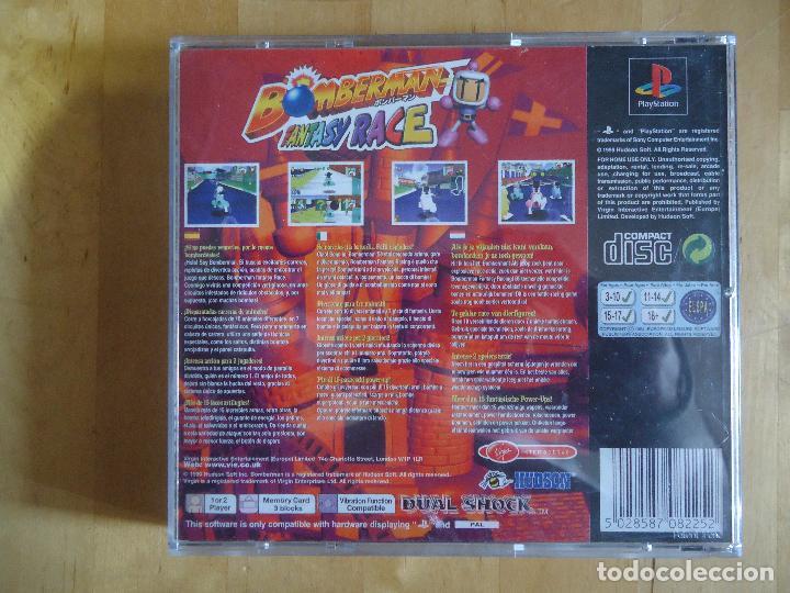 Videojuegos y Consolas: JUEGO SEGA MEGA DRIVE NINTENDO DS GAMECUBE GAME BOY MEGA BOMBERMAN POCKET GENERATION FANTASY RACE - Foto 6 - 60829287