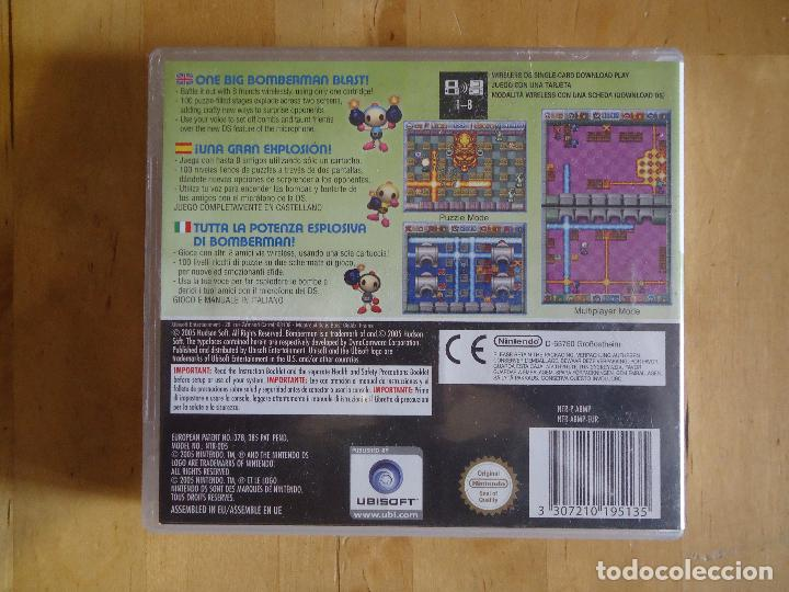 Videojuegos y Consolas: JUEGO SEGA MEGA DRIVE NINTENDO DS GAMECUBE GAME BOY MEGA BOMBERMAN POCKET GENERATION FANTASY RACE - Foto 15 - 60829287