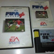 Videojuegos y Consolas: SEGA MEGA DRIVE ~ FIFA 96 SOCCER ~ COMPLETO ~. Lote 64457259