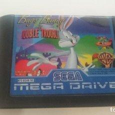 Videojuegos y Consolas: CARTUCHO BUGS BUNNY DOUBLE TROUBLE SEGA MEGA DRIVE PAL MEGADRIVE. Lote 64935231