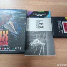 Videojuegos y Consolas: LHX ATTACK CHOPPER - MEGADRIVE MEGA DRIVE SEGA PAL COMPLETO. Lote 65769930