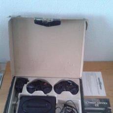 Videojuegos y Consolas: CONSOLA SEGA MEGA DRIVE II COMPLETA CON 2 MANDOS CAJA Y MANUAL TODO ORIGINAL VER R5100. Lote 66242222