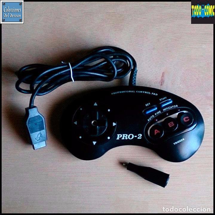 MANDO CONTROL PAD + STICK / MEGA DRIVE MEGADRIVE (Juguetes - Videojuegos y Consolas - Sega - MegaDrive)