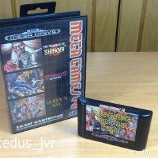 Videojuegos y Consolas: MEGA GAMES 2 II STRETS OF RAGE REVENGE SHINOBI GOLDEN AXE JUEGOS PARA SEGA MEGADRIVE MEGA DRIVE PAL. Lote 67362101