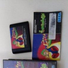 Videojuegos y Consolas: ANTIGUO JUEGO PARA LA SEGA LEMMINGS. Lote 112046990