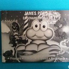 Video Games and Consoles - MANUAL DE INSTRUCCIONES SEGA MEGADRIVE JAMES POND 2 - 67552813