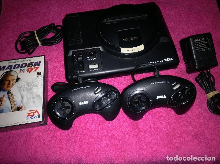 CONSOLA SEGA MEGA DRIVE 2 MANDOS JUEGO NUEVO A ESTRENAR (Juguetes - Videojuegos y Consolas - Sega - MegaDrive)
