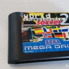 Videojuegos y Consolas: WORLD CHAMPIONSHIP SOCCER 2 JUEGO SEGA MEGADRIVE MEGA DRIVE PAL VERSIÓN ESPAÑOLA. Lote 68304017