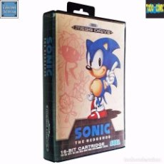 Videojuegos y Consolas: SONIC THE HEDGEHOG / JUEGO MEGA DRIVE MEGADRIVE / PAL / SEGA 1991. Lote 60640091