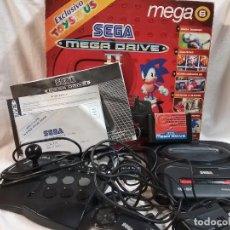 Videojuegos y Consolas: CONSOLA SEGA MEGA DRIVE MEGADRIVE II EN CAJA ORIGINAL . Lote 148296258