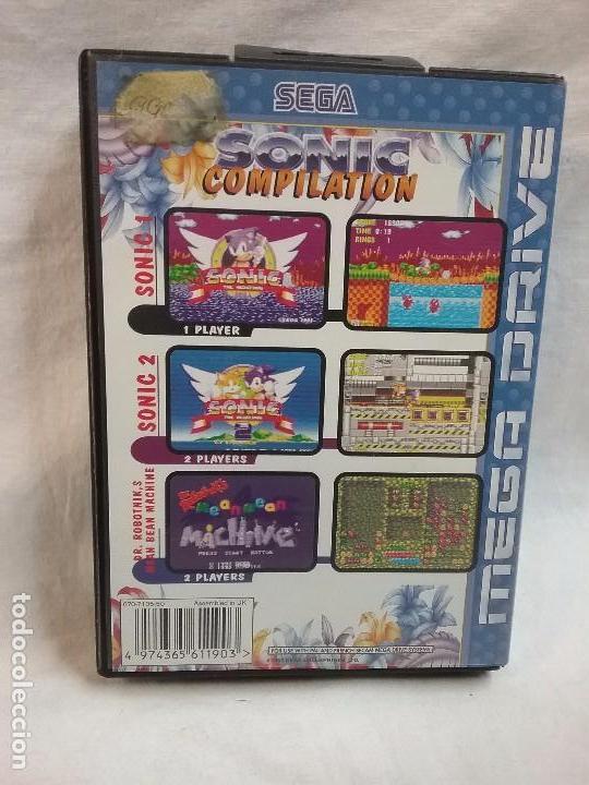 Videojuegos y Consolas: SEGA MEGA DRIVE MEGADRIVE JUEGO SONIC COMPILATION EN CAJA ORIGINAL - Foto 3 - 69968393