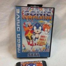 Videojuegos y Consolas: SEGA MEGA DRIVE MEGADRIVE JUEGO SONIC COMPILATION EN CAJA ORIGINAL . Lote 69968393