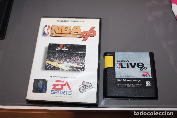 NBA LIVE 96 SEGA MEGA DRIVE FUNCIONANDO CON CAJA (Juguetes - Videojuegos y Consolas - Sega - MegaDrive)