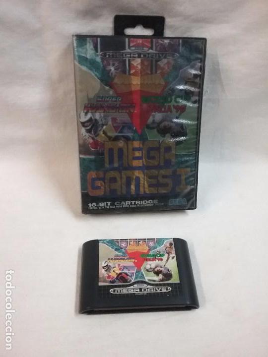 JUEGO MEGADRIVE MEGA DRIVE SUPER HANG ON , WORLD CUP ITALIA 90 (Juguetes - Videojuegos y Consolas - Sega - MegaDrive)