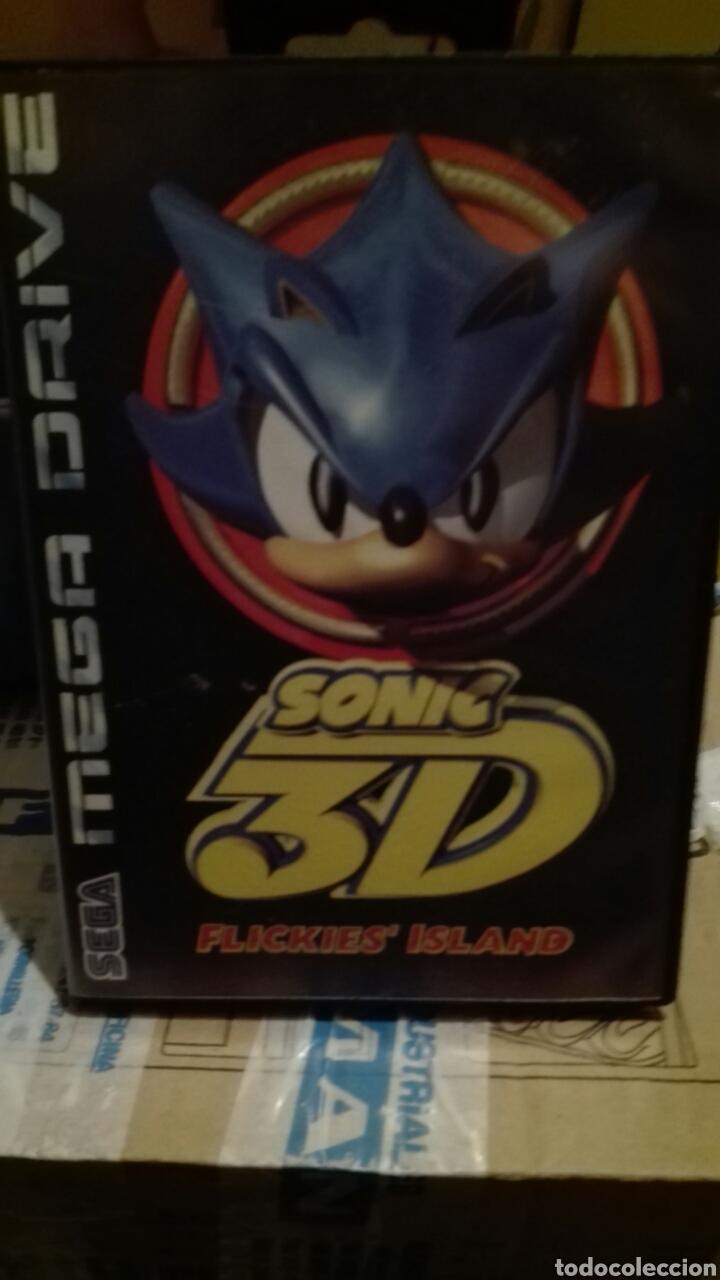 SONIC 3D SEGA (Juguetes - Videojuegos y Consolas - Sega - MegaDrive)