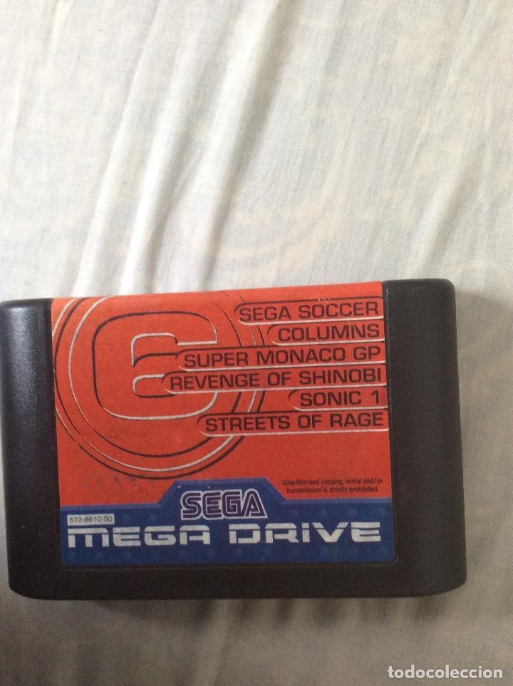 JUEGO DE SEGA MEGADRIVE MEGAGAMES 6 (Juguetes - Videojuegos y Consolas - Sega - MegaDrive)
