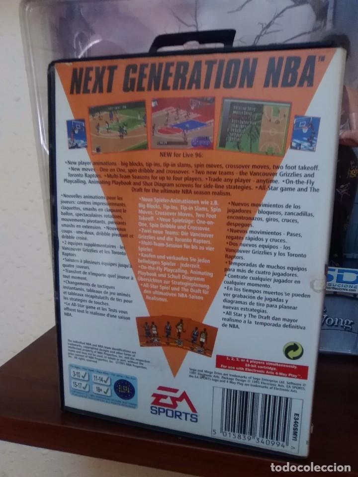 Videojuegos y Consolas: NBA LIVE 96 - EA SPORTS - SEGA MEGA DRIVE - CARTUCHO - 16 BIT - Foto 3 - 75589443