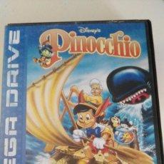 Videojuegos y Consolas: JUEGO SEGA MEGADRIVE PINOCCHIO MEGA DRIVE PINOCHO DISNEY COMPLETO CON CLAVES. Lote 75877247