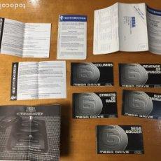 Videojuegos y Consolas: LOTAZO DE SEGA MEGADRIVE INSTRUCCIONES GARANTIA CONSOLA SHINOBI SOCCER RAGE REVENGE OF. Lote 78178599