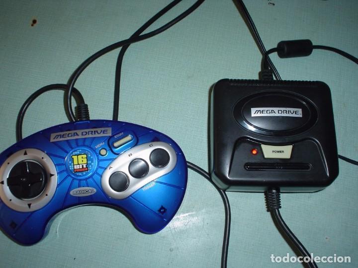 CONSOLA MEGA DRIVE LA PEQUEÑA (Juguetes - Videojuegos y Consolas - Sega - MegaDrive)