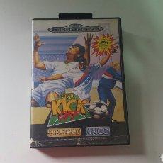 Videojuegos y Consolas: KICK OFF MEGA DRIVE (SOLO CAJA). Lote 78444477
