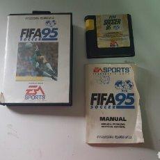 Videojuegos y Consolas: FIFA SOCCER 95 (COMPLETO) MEGA DRIVE. Lote 78446015